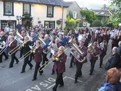 Castleton with Cressbrook brass band