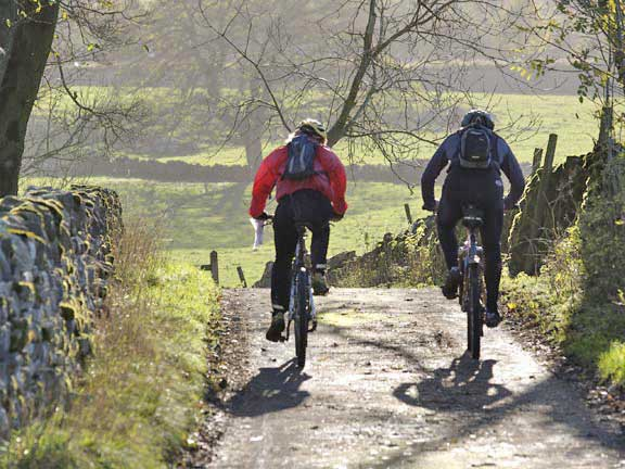 Mountain biking in Peak District