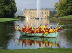 Chatsworth in the Peak district is close to Tick Tock cottage